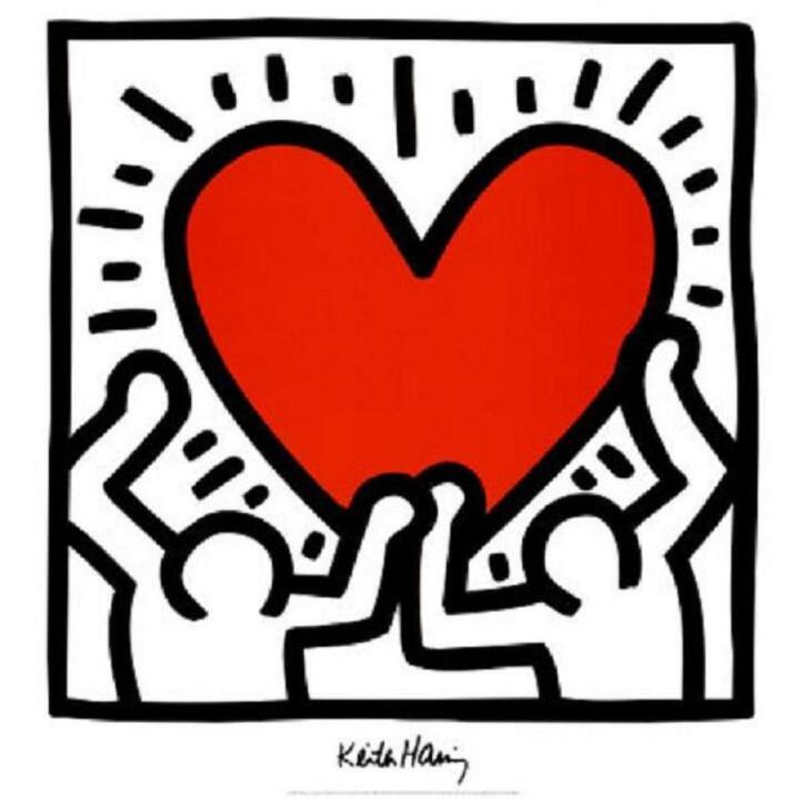 keith-haring-heart.jpg (1170×1165)