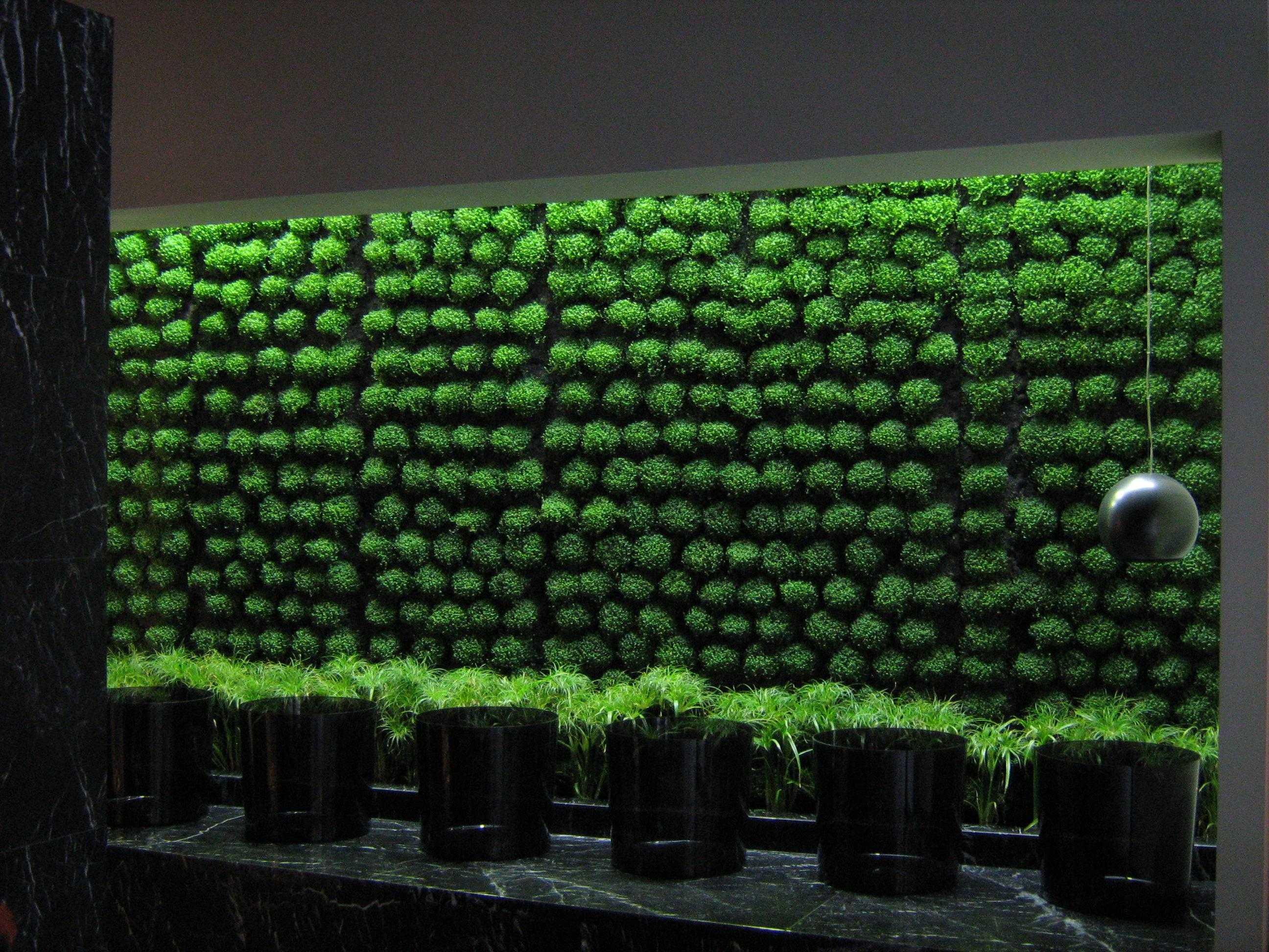 Verde profilo centro benessere te la do io firenze - Moduli per giardino verticale ...