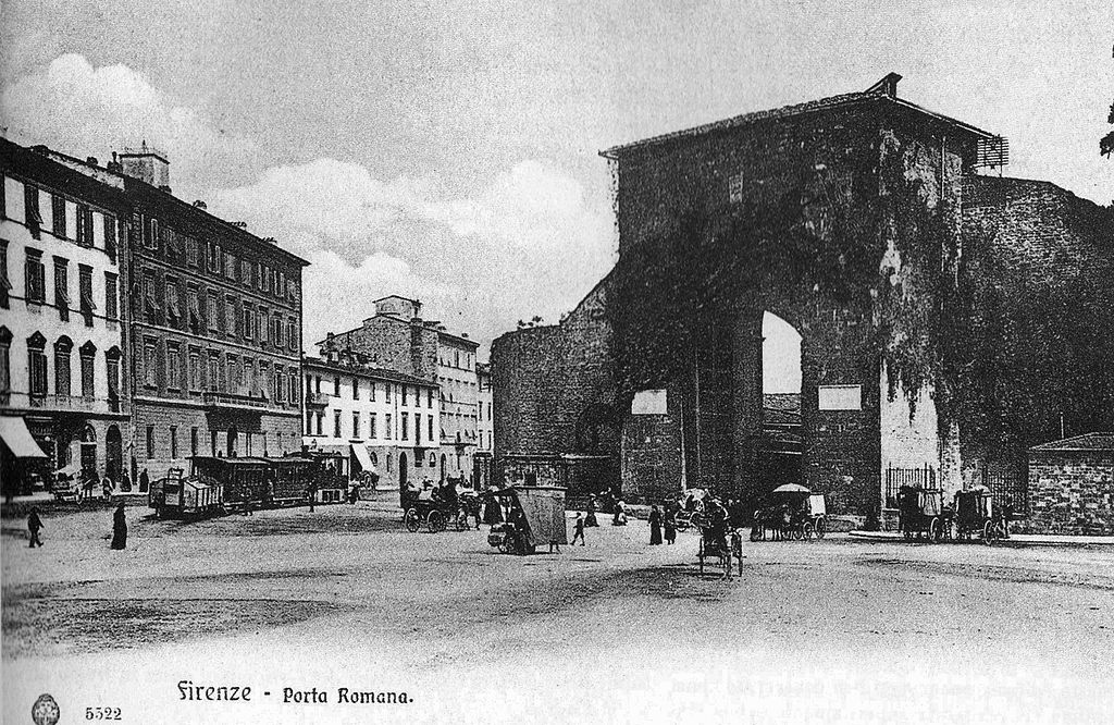 Porta romana te la do io firenze for Firenze foto storiche