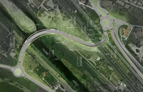 Un nuovo ponte fra le rive dell 39 arno te la do io firenze for Portico e design del ponte