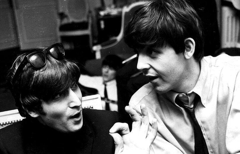 Paul McCartney  settant   anni da Sir della musicaYoung John Lennon And Paul Mccartney