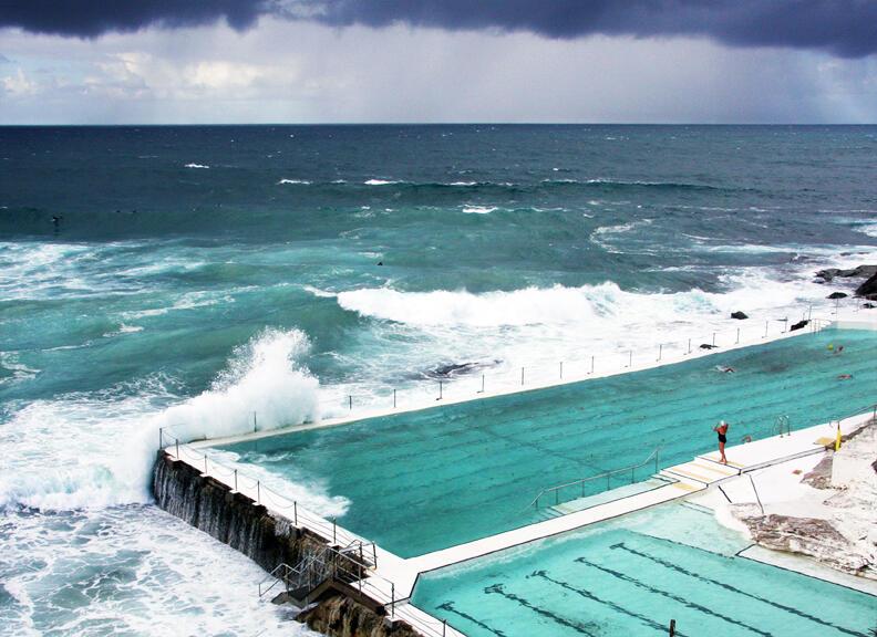 10 incredibili piscine in giro per il mondo te la do io for Piscinas portillo