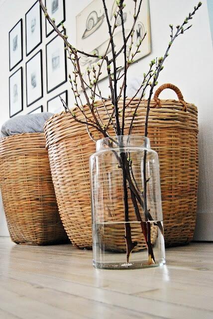 Arredare con il vimini idee per il giardino e per la casa - Rami secchi decorativi dove comprarli ...