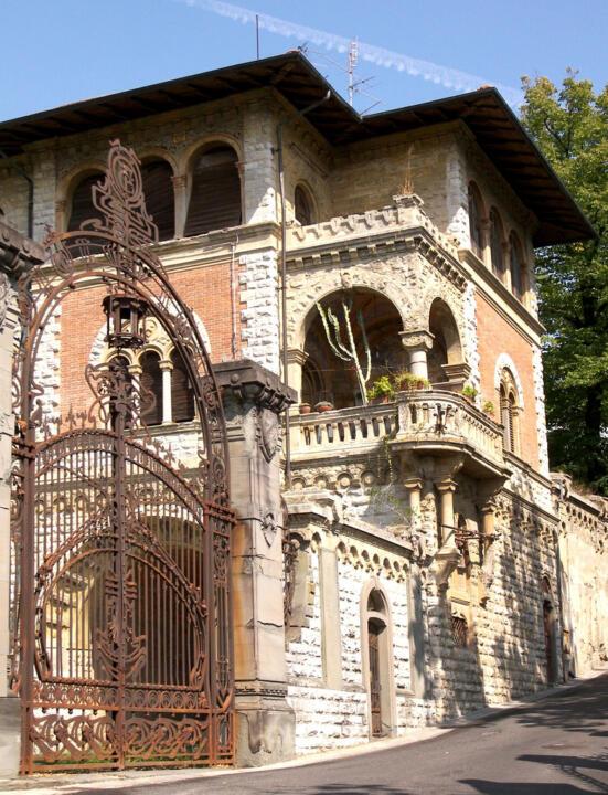 Art nouveau fiorentino le ville e i villini liberty di for Foto di ville