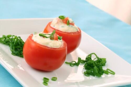 ricette facili pomodoro, ricette pomodoro, ricette facili, pomodori ripieni ricetta, pomodori ripieni freddi