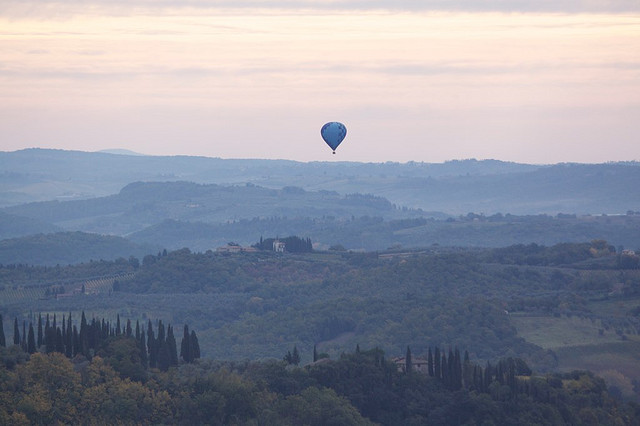 Mongolfiere in Toscana