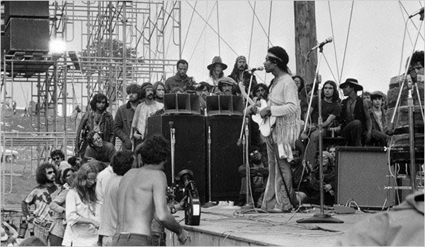 Jimi Hendrix Live At Woodstock Nei Cinema Di Firenze Te