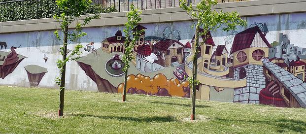 graffiti fortezza da basso murales firenze