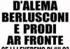 Vernacoliere locandina aprile 1999 prodi berlusconi