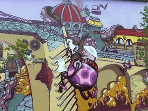 3 cose che forse non sapete sui graffiti a firenze te la for I murales piu belli del mondo