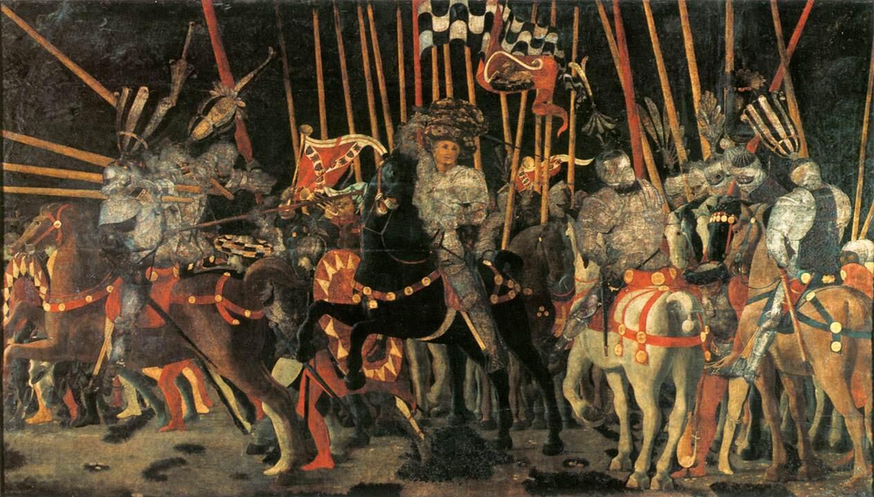 La battaglia di san romano lo scontro tra fiorentini e for Battaglia di milano