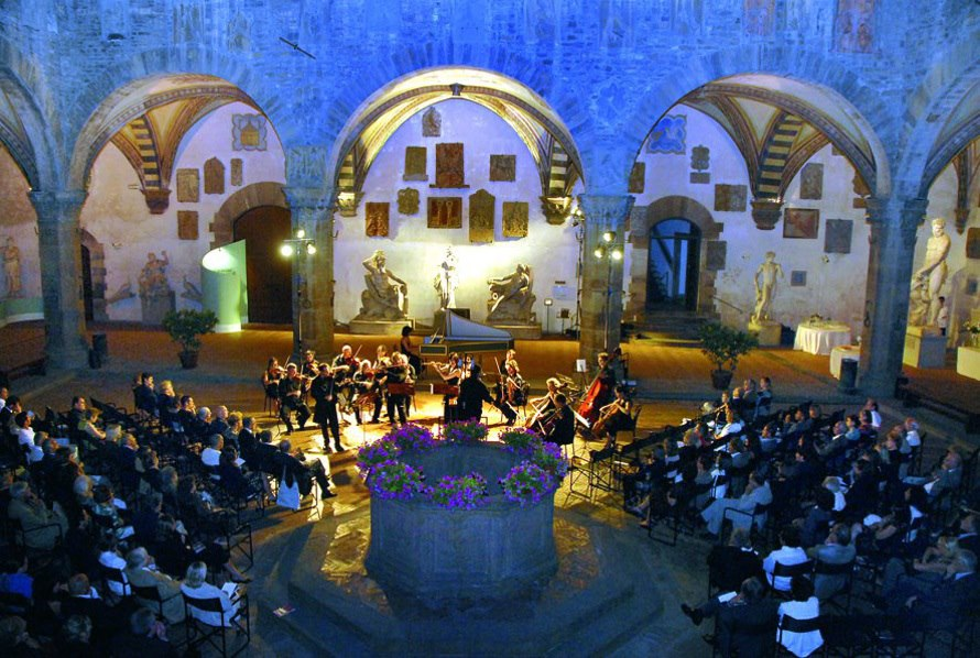 Estate al Bargello, musica classica
